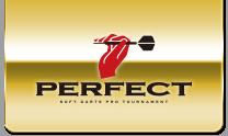 日本初のプロソフトダーツトーナメント「PERFECT」オフィシャルサイト